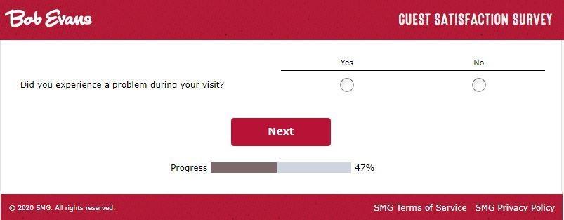 Bobevanslistens smg satisfaction survey