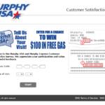 Tellmurphyusa.com - Official Tell Murphy USA Survey - Win $100 Free Gas