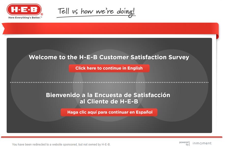 HEB.com/survey